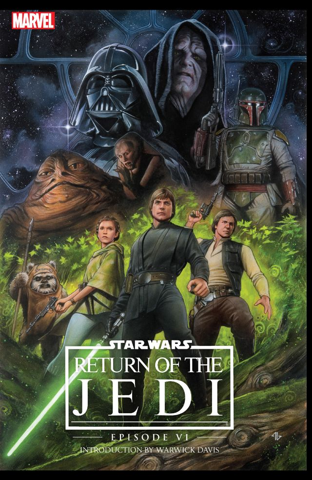 100% Star Wars Le Retour du Jedi Couverture