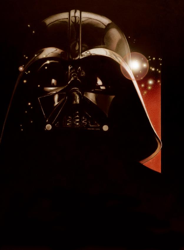 Affiche de l'Episode III - Dark Vador
