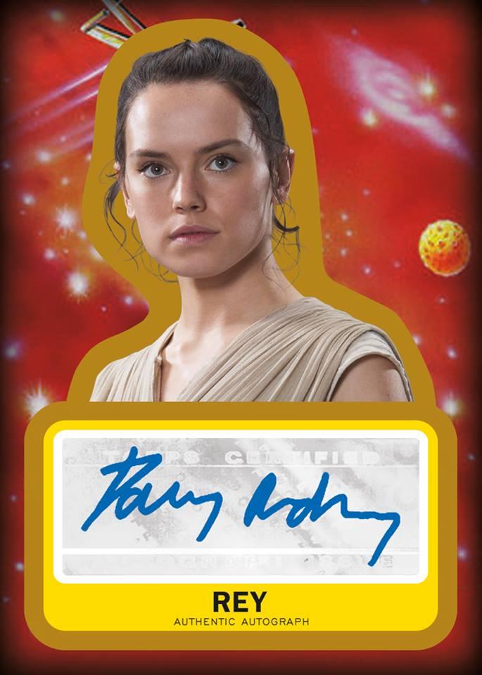 exemple autographe de Rey