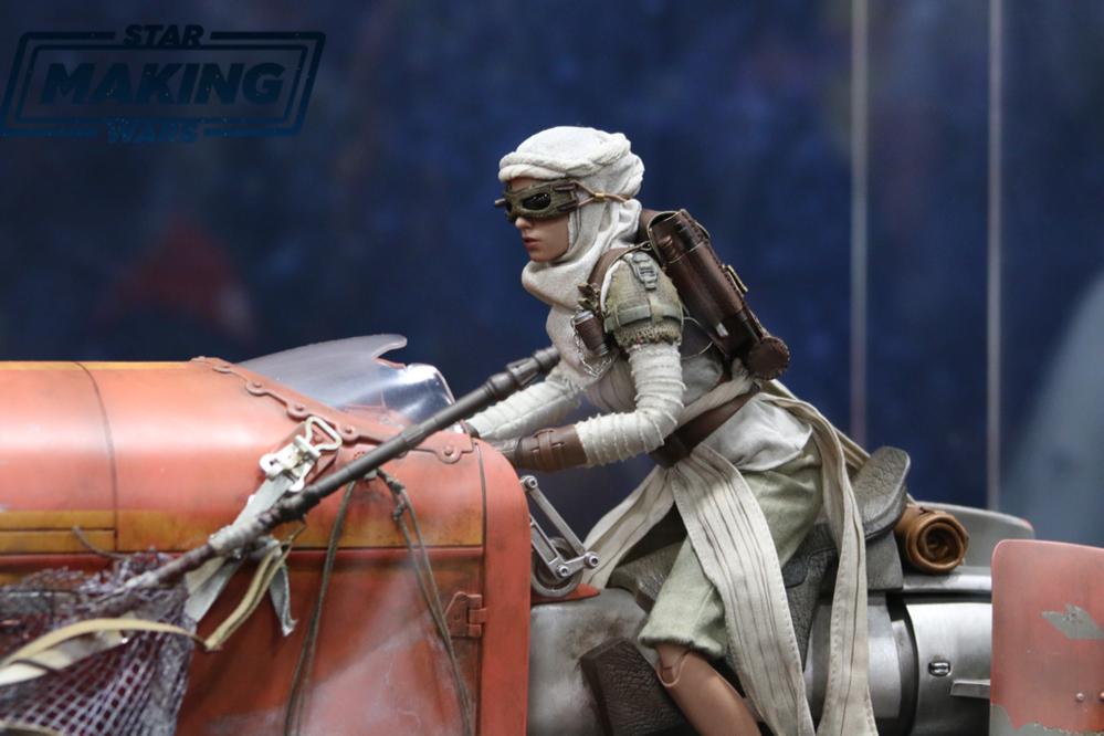 Star Wars Rey Speeder