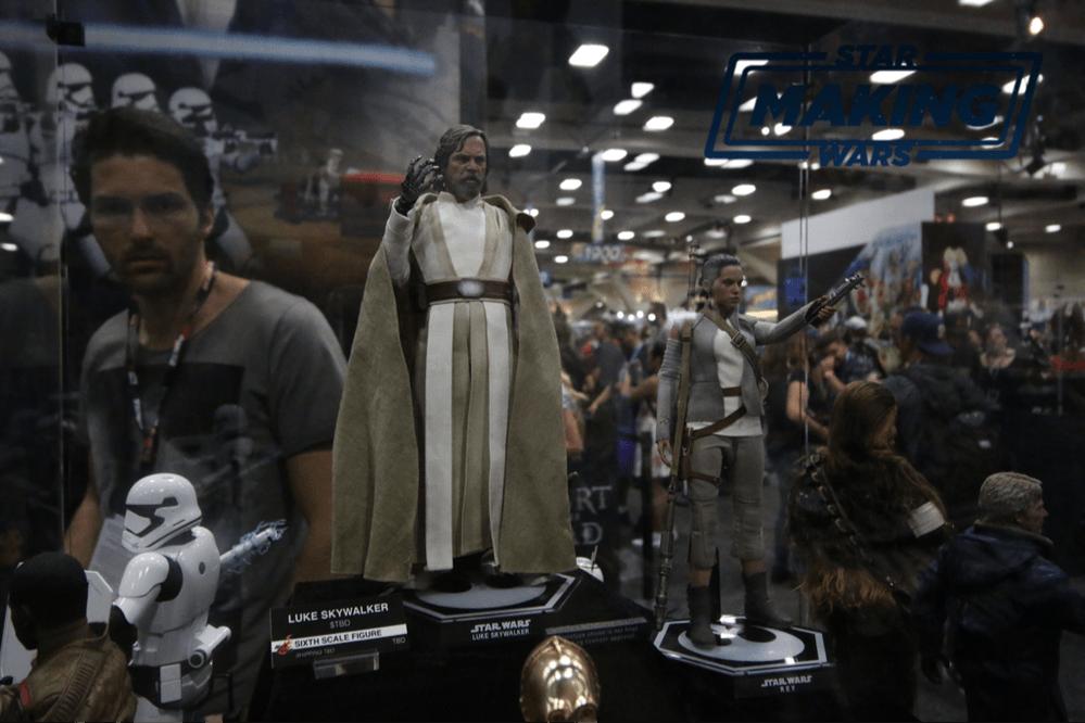 Rey Luke Star Wars