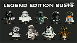 Legend Edition Busts