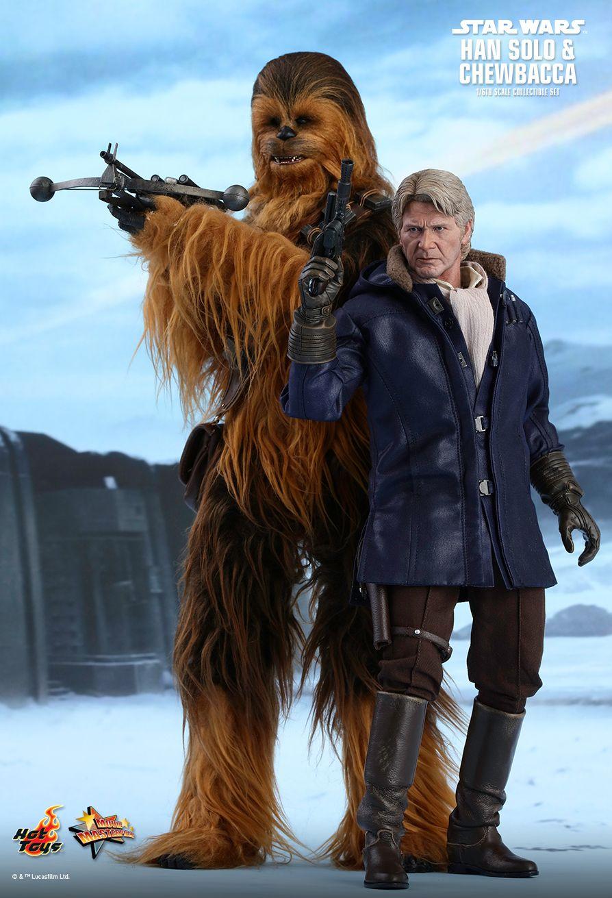 Han et Chewie TFA