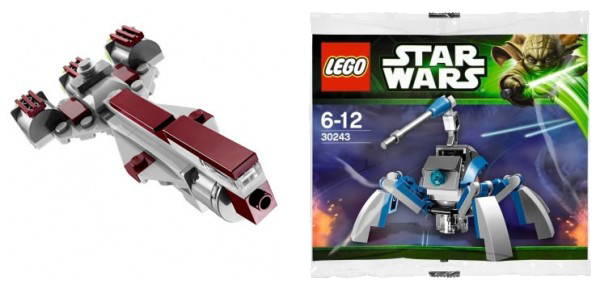 Sachets Lego 3 et 4