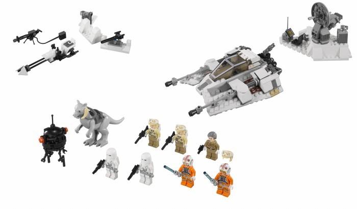 Lego 75014 - le contenu