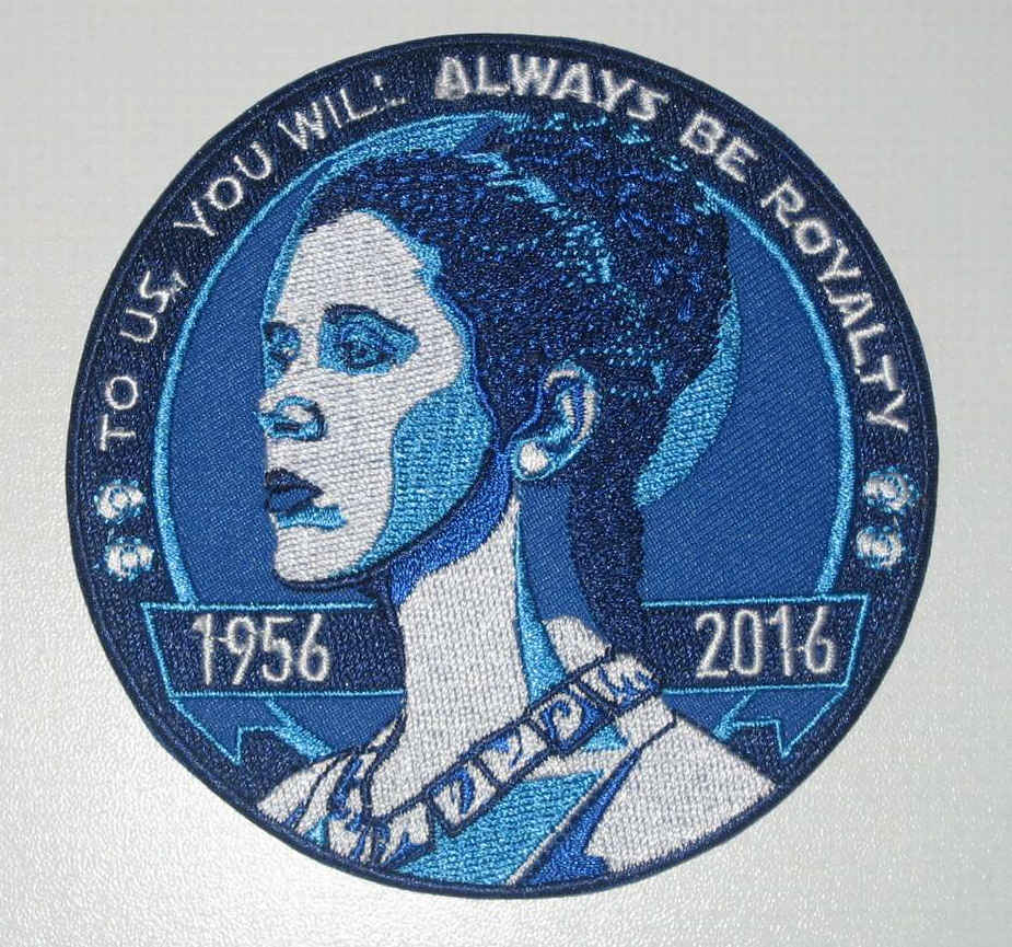 patch hommage Carrie Fisher