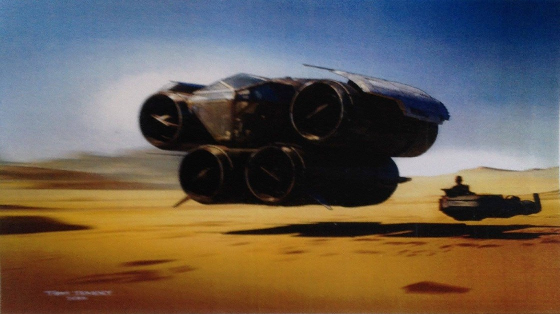 Saga Star Wars  Pod%20Junker%20%26%20Land%20Speeder...