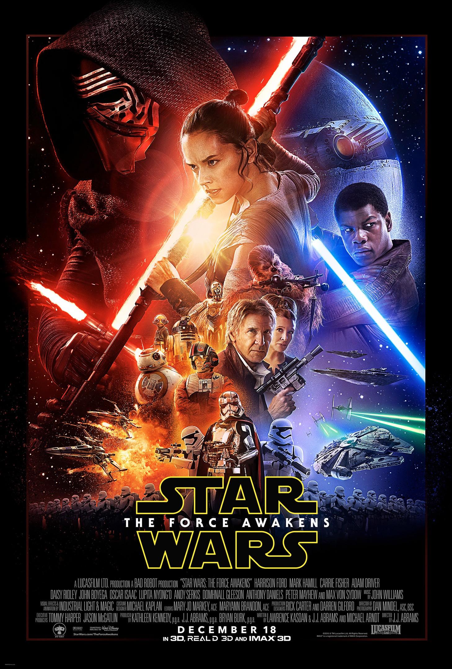 [Lucasfilm] Star Wars : Le Réveil de la Force (2015) - Page 3 Affiche