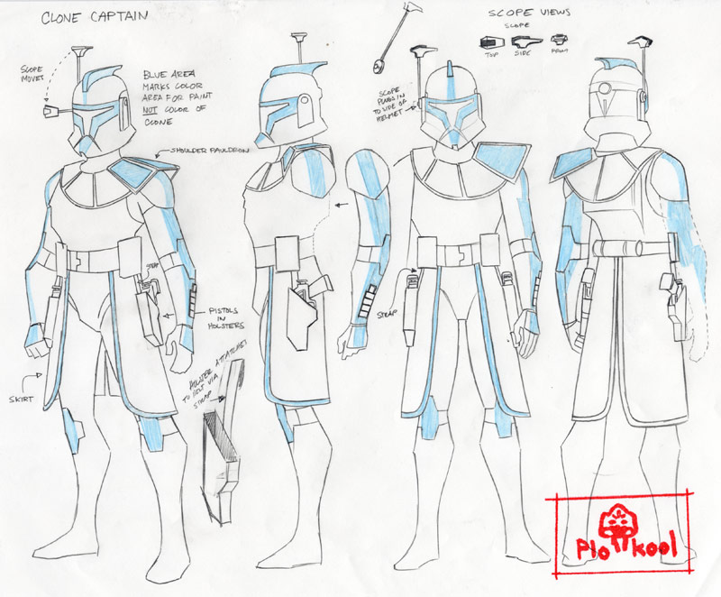The Clone Wars Concept art Dun Capitaine