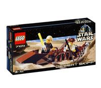 Lego 7104 - Desert Skiff