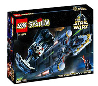 Lego 7150 - <a href='/vehicule-158-tie-fighter.html' class='motcle'>TIE Fighter</a> &amp; Y-Wing