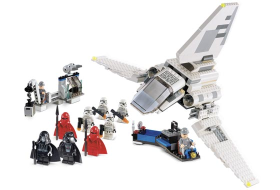 Imperial inspection collection star wars universe - Vaisseau de dark vador ...