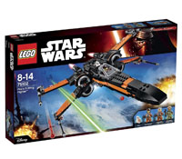 75102 - Poe's X-Wing Starfighter