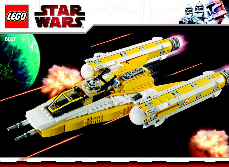 Anakin 39 s y wing starfighter collection star wars universe - Vaisseau star wars anakin ...