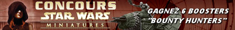 Concours Star Wars Miniatures : Bounty Hunter
