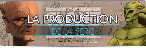 La production de The Clone Wars