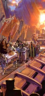 Procession funéraire d