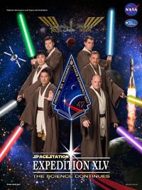 L'équipage 45 de l'ISS