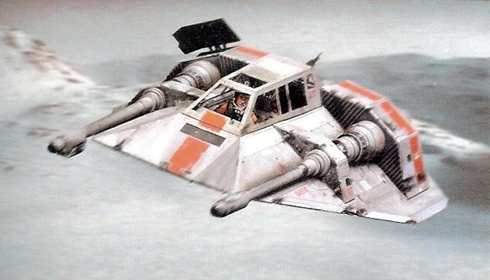 Star Wars Hoth Snowspeeder
