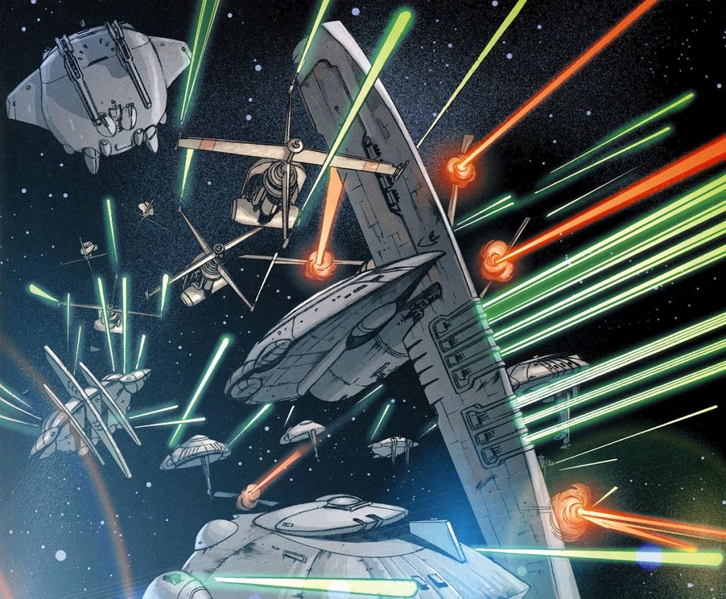 Croiseur Mc104 Scythe Encyclop 233 Die Star Wars Universe