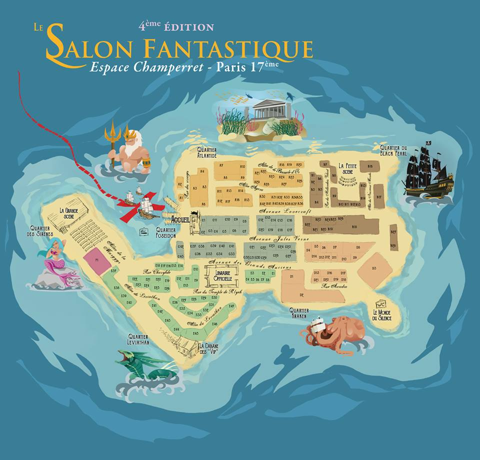 Salon fantastique 2016 ev nements et rencontres swu for Salon fantastique paris
