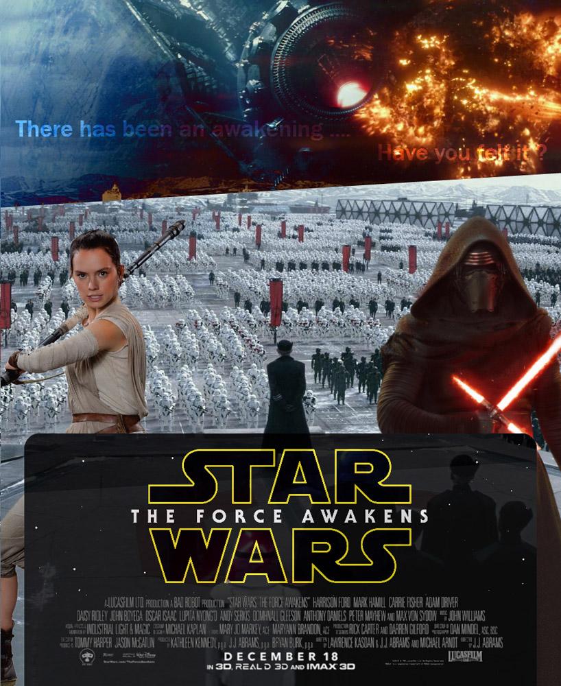 star wars tfa affiche n 2 fan arts star wars universe. Black Bedroom Furniture Sets. Home Design Ideas