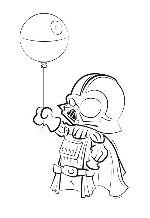 Comment dessiner un jedi - Dessin facile star wars ...