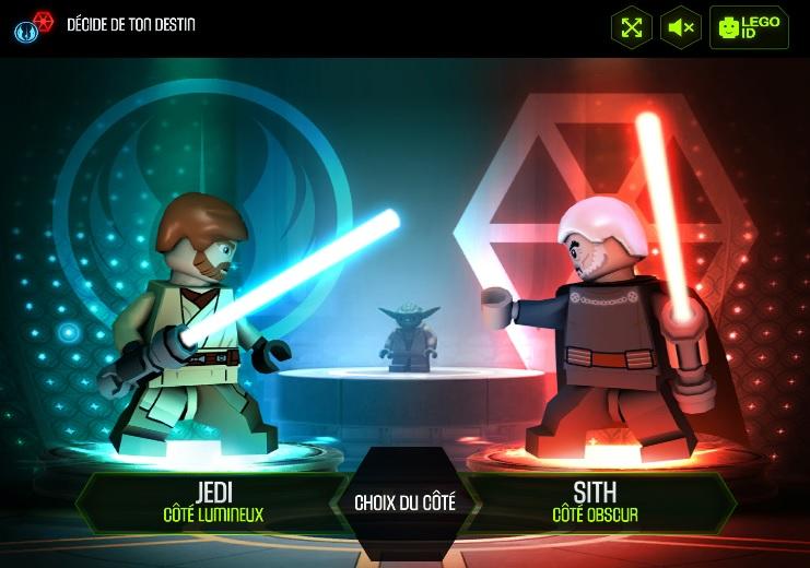 lego yoda chronicles web games starwars de de