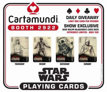 Star Wars Celebration 2017 Exclusive Cards