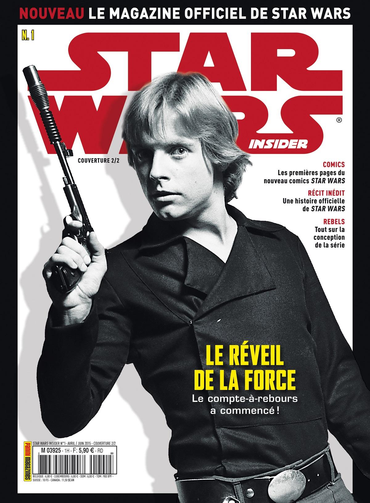 star wars insider france n 1 magazines star wars universe. Black Bedroom Furniture Sets. Home Design Ideas