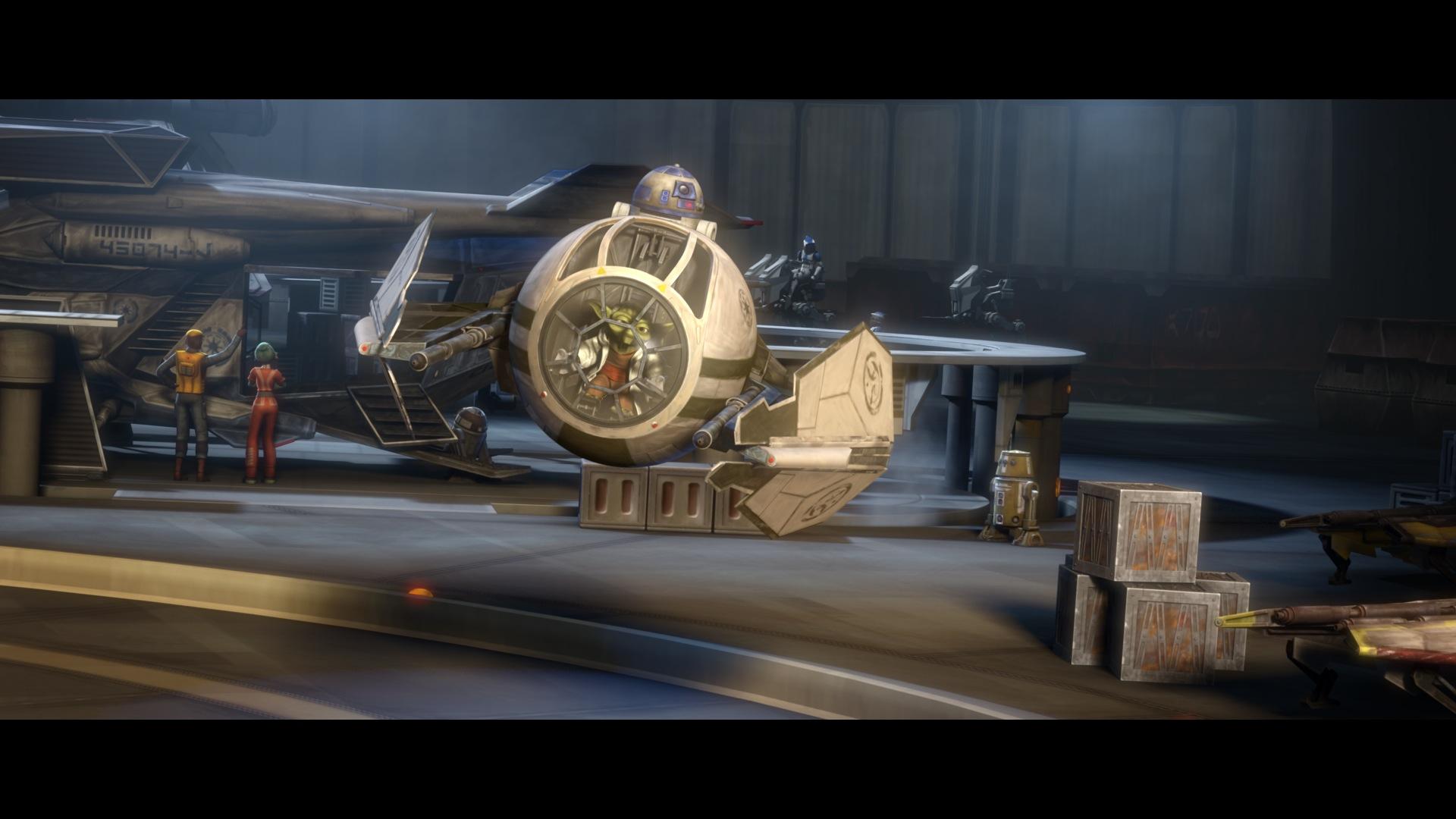 Yoda encyclop die star wars universe for Interieur vaisseau star wars