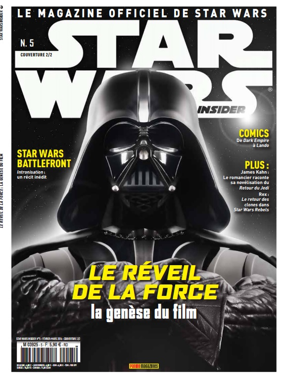 Star Wars Insider 5 - Couverture B