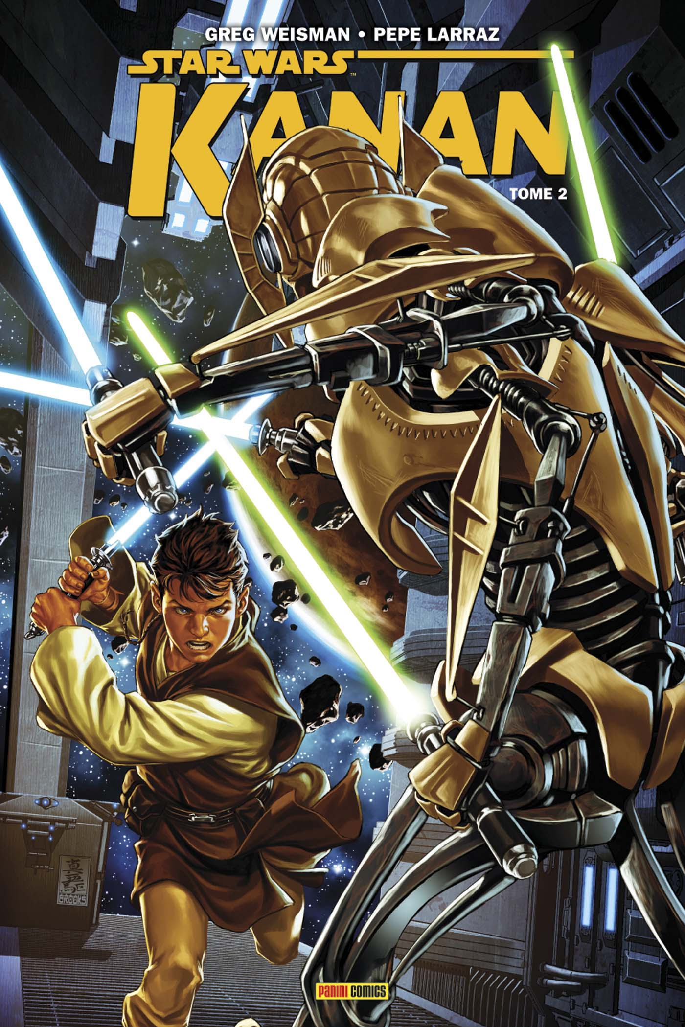 100% Star Wars Kanan Tome 2 Couverture