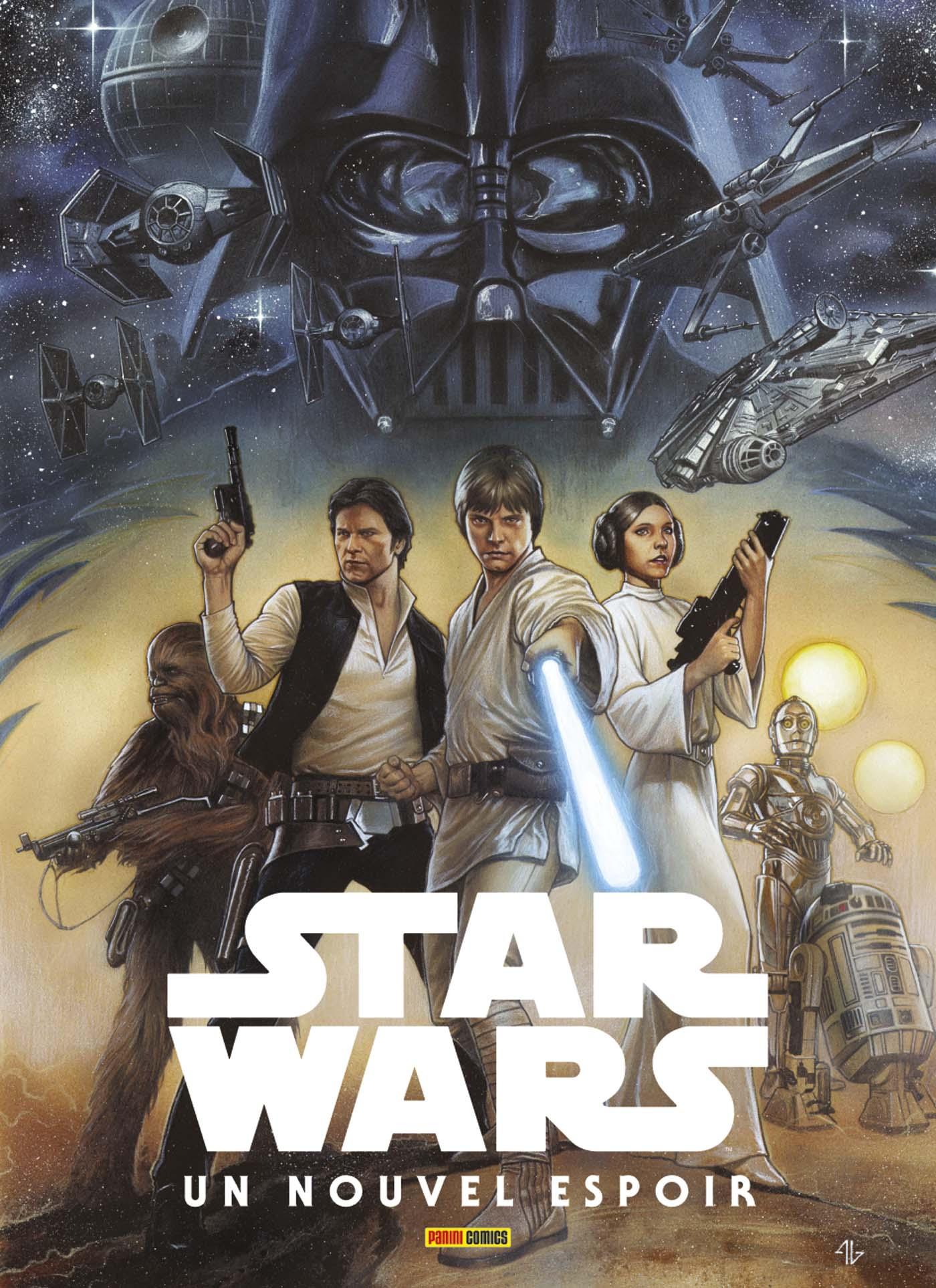 100% Star Wars Un Nouvel Espoir Couverture