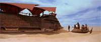 La barge dans l'Episode VI