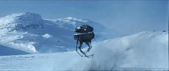 le droïde sonde passe