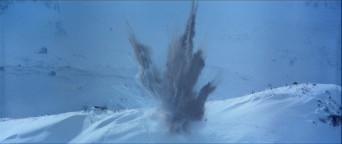 le droïde sonde s'écrase