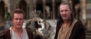 les Jedi devant la fontaine