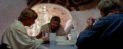 La salle à manger dans l'Episode IV
