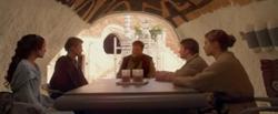 La salle à manger dans l'Episode II