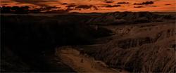 R2 dans le canyon