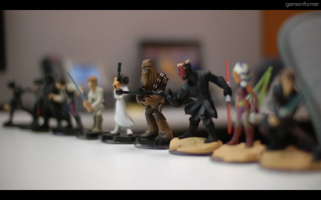 Figurines disney infinity