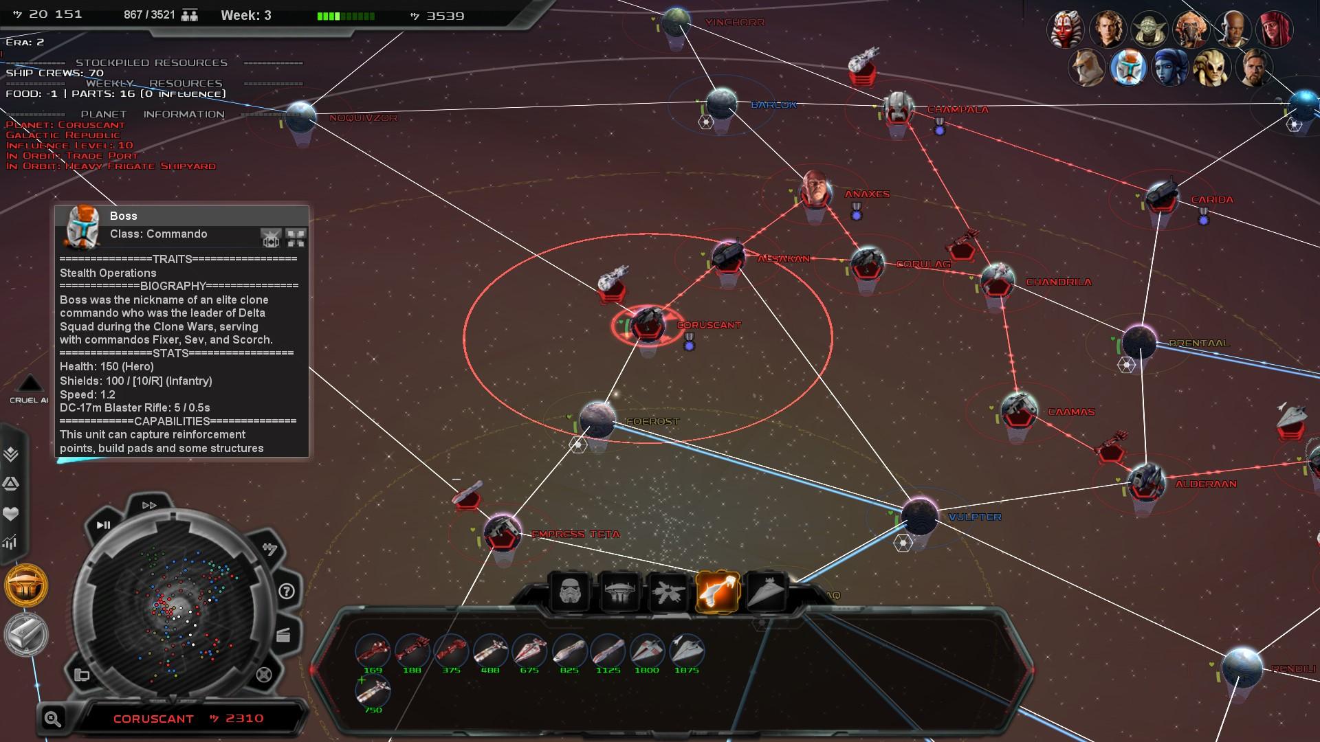 Empire At War Mods