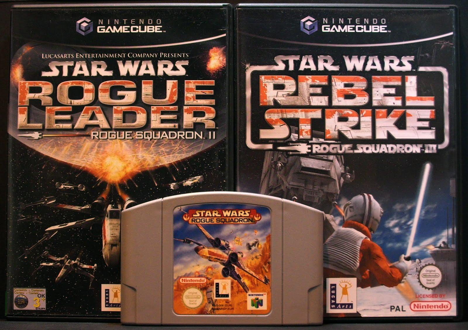 La série <a href='/jeu-video-8-rogue-squadron.html' class='qtip_motcle' tt_type='jeu-video' tt_id=8>Rogue Squadron</a>.