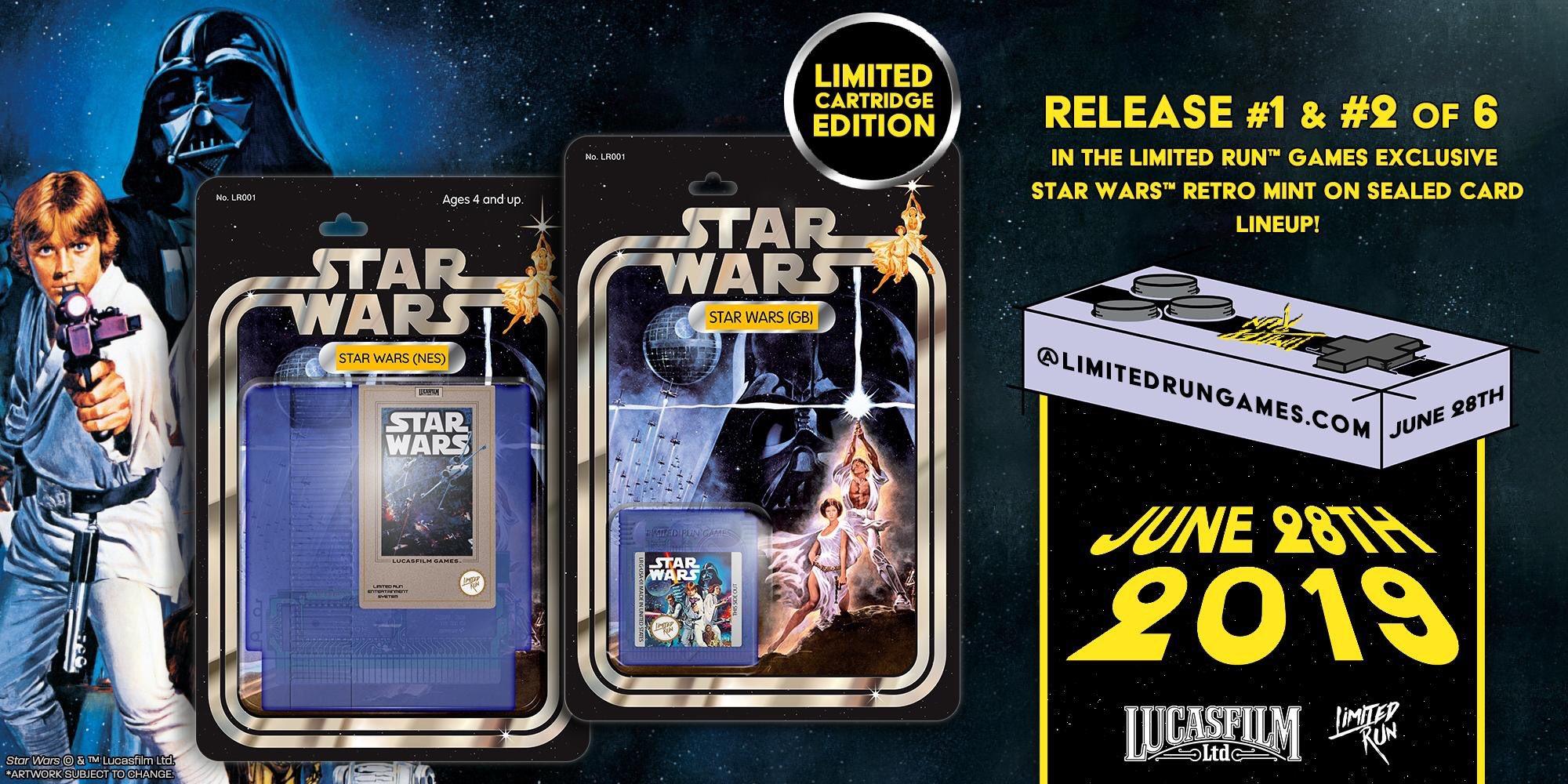 Star Wars sur Nes et Game Boy
