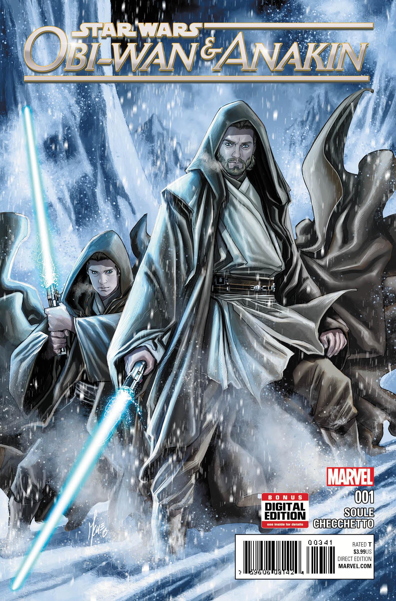 100% Star Wars Obi-Wan et Anakin Couverture