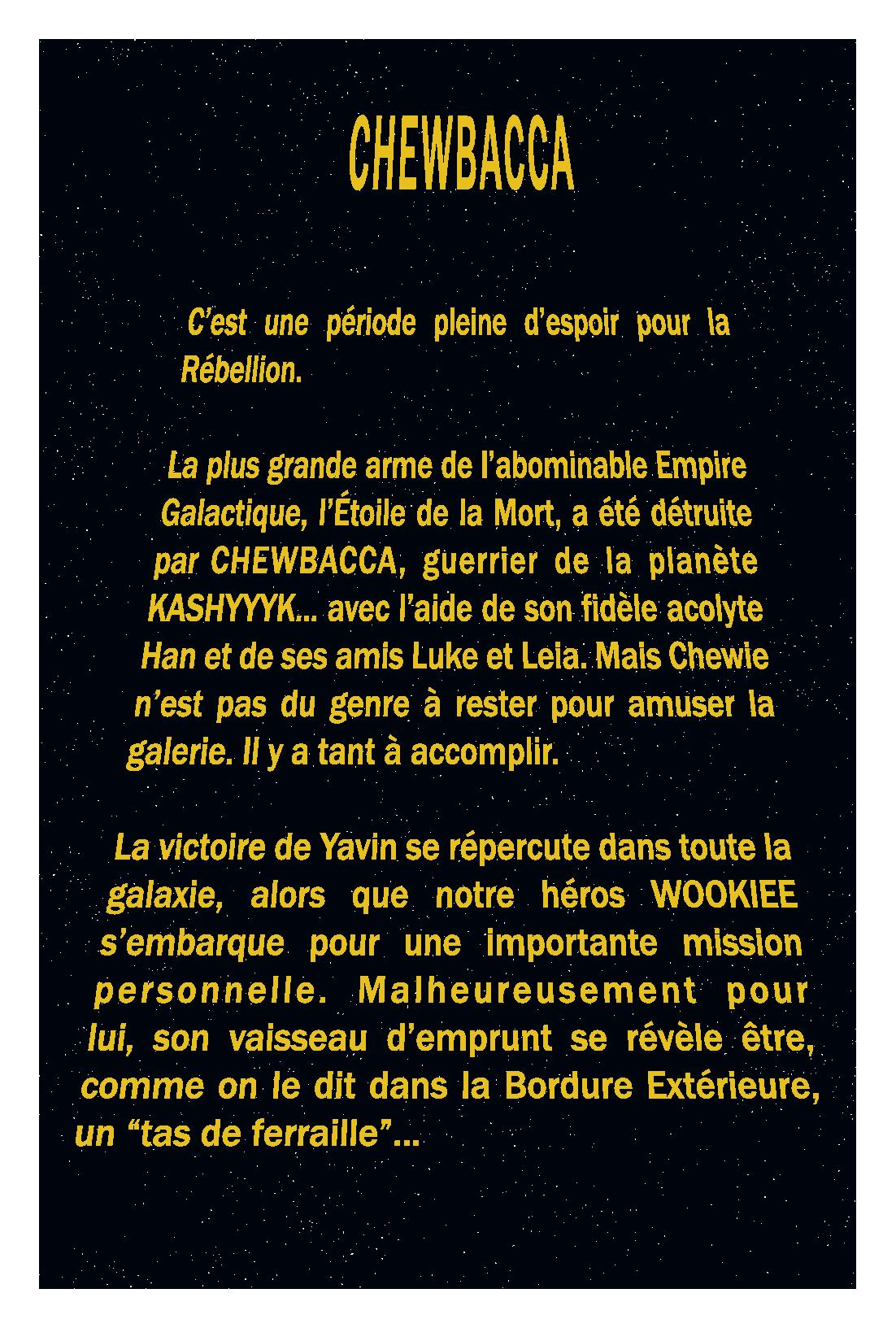 Star Wars Chewie - Preview 1