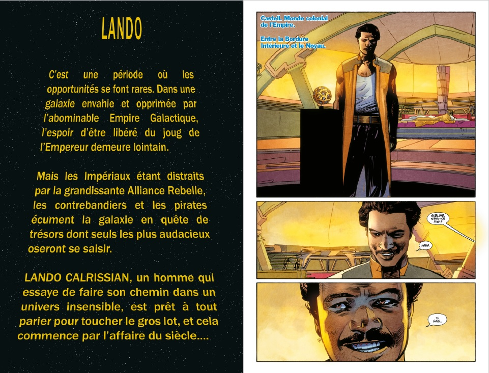 Star Wars Lando - Preview 1