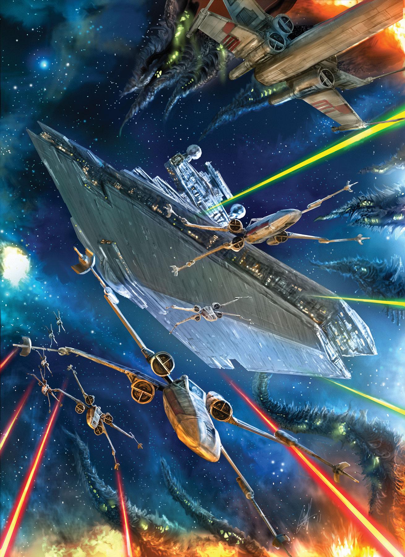 Dark horse sollicitations d 39 octobre 2011 actualit s comics star wars universe - Dessin vaisseau star wars ...