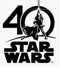 Logo Star Wars Un Nouvel Espoir 40 ans